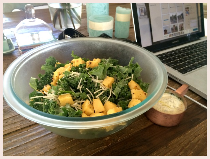 Quick & Delish: My Go-To Kale Salad – Elizabeth Seryak