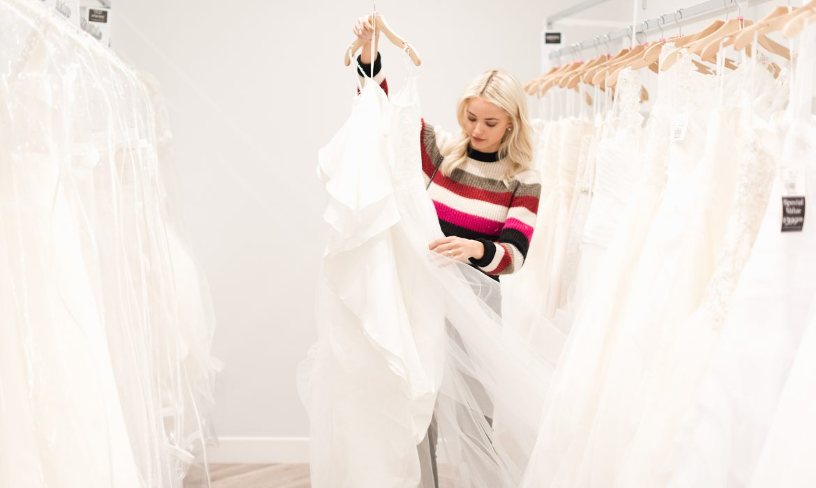 Digital Diary: First Day of Wedding Dress Shopping