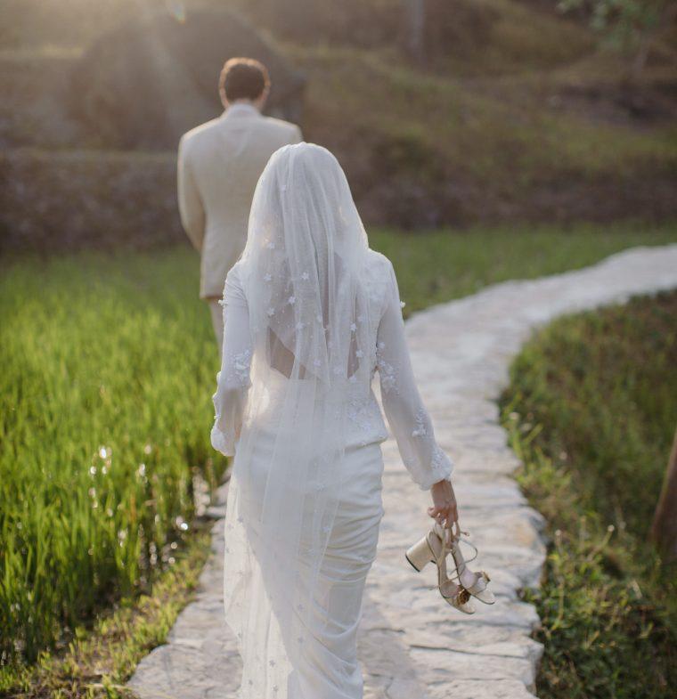 The making of my wedding dress